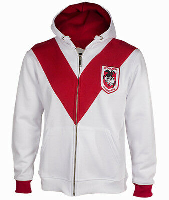 St George Dragons NRL Retro Heritage Hoodie Jacket Sizes S-5XL BNWT