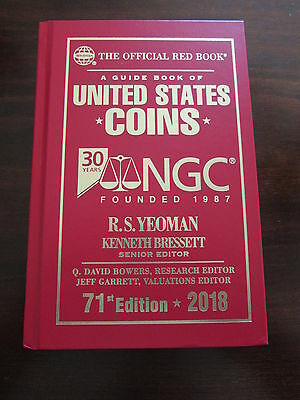 2018 NGC Special Limited Edition Red Book Guide Book of US Coins 71st Bressett