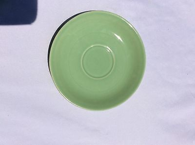 Camwood  Ivory Universal Cambridge 5 Inch Saucer Replacement Piece Solid Green