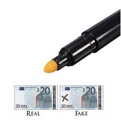 NEW Money Checker Counterfeit Detector Marker Fake Banknotes Tester Pen Black CN