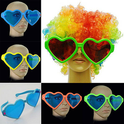 Giant Oversized Heart Novelty Costume Photo Booth Hen Party Accessory Sunglasses