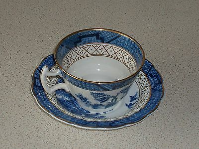 Real Old Willow Cup & Saucer,