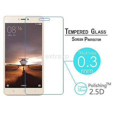 Tempered Glass Screen Protector Film For Xiaomi 5S Plus 5C 6 Redmi4 4A Note4X CA