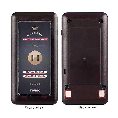 Wireless Restaurant Call Coaster Pager Receiver for call  Paging Queuing System