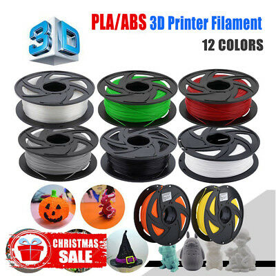 3D Printer Filament PLA 1.75mm 1kg/Roll Multiple Colours 300M MakerBot ProX q@ON