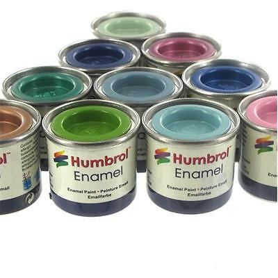 HUMBROL Enamel Paint Gloss Available in Different Colour & Sizes