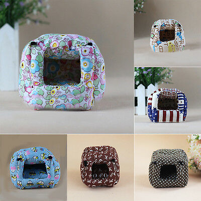 Small Animals Pet Hamster Cotton Warm Hanging Bed Hammock Toy House Cage