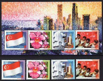 SINGAPORE MNH 2003 National Day Stamps and Minisheet