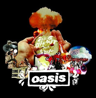 Oasis Dig Out Your Soul Greeting Birthday Card Any Occasion Album Cover Official