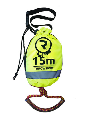 15m Riber Throwbag Throwline Rescue Rope Kayak Canoe Safety Emergency Gear