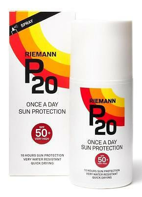 Riemann P20 SPF50 Once A Day Sun Protection - 200ml- Multiple Packs