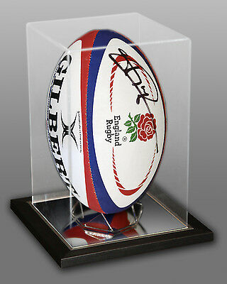 *New* Jonny Wilkinson Signed England Rugby Ball Presented In An Acrylic Case