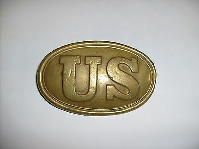 Us Civil War Era Union Us Belt Plate