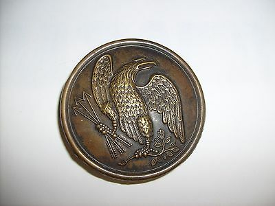 Us Civil War Era Eagle Non Commissioned Officer Shoulder Plate