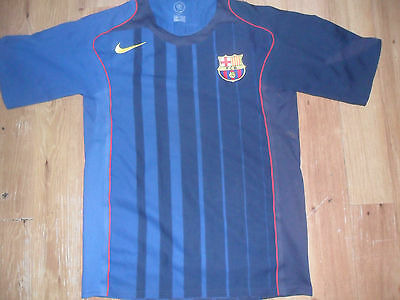 FC Barcelona 04/05 away Football shirt size M