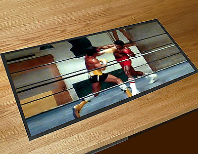 Rocky Vs Apollo Creed Rocky  Movie Balboa Beer Bar Runner mat