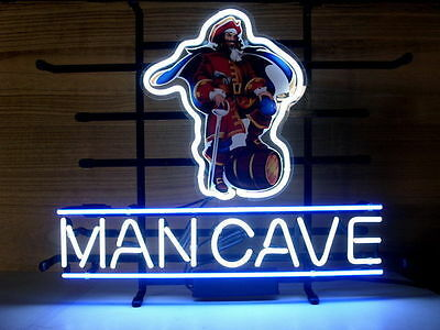 "New CAPTAIN MORGAN MAN CAVE Rum Neon Light Sign 18""x14"""