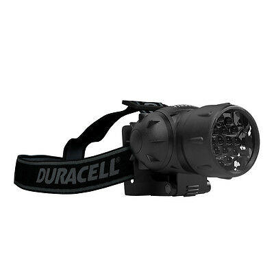 3 AAA-Batteries Duracell hdl-2cw DEL Lampe Frontale 3 W à piles incl