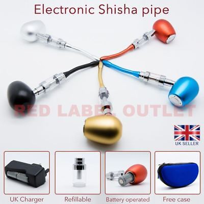 ELECTRONIC E SHISHA RECHARGEABLE SHEESHA HOOKA VAPOR PIPE 900mAh - KIT
