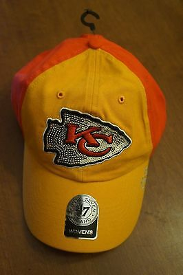 4f101a48 NFL KANSAS CITY Chiefs '47 Clean Up Adjustable Hat, Red, One Size ...