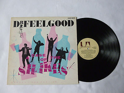 Dr Feelgood ~ A Case Of The Shakes ~ 1980 Uk 1St Press Vinyl Lp ~ Great Audio