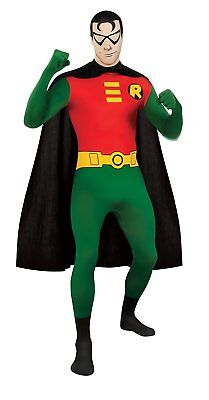Adult Men's DC Comics Robin Full Body Stretch Jumpsuit