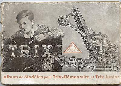 Competidor Trix De Meccano.manual Instructions.documentation Vintage. 96 Páginas