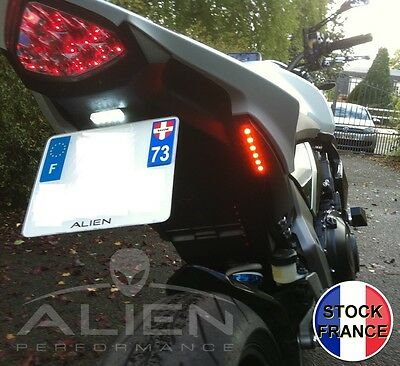 2 Clignotants Moto 6 Led Roadster Look Extra