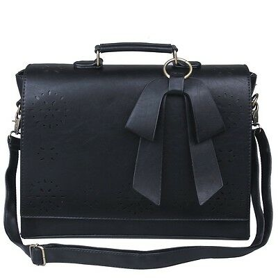 Ladies women bags shoulder bag PU Leather messenger Laptop Briefcase New fashion