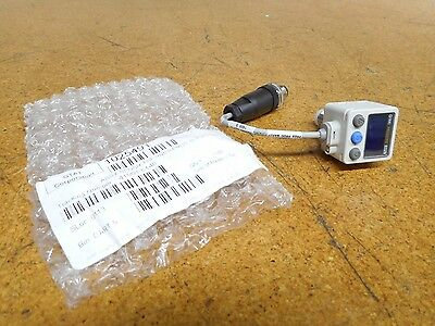 SMC ISE80H-A2-V Pressure Sensor Digital Display 12-24VDC New