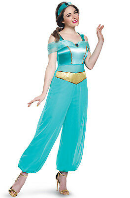 Brand New Disney Princess Jasmine Deluxe Adult Costume
