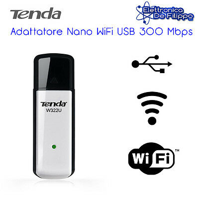 Tenda W322U 300Mbps Wireless USB Network Interface Card