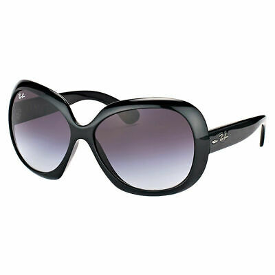 Ray-Ban Jackie Ohh II RB 4098 601/8G Black Plastic Sunglasses Grey Gradient Lens