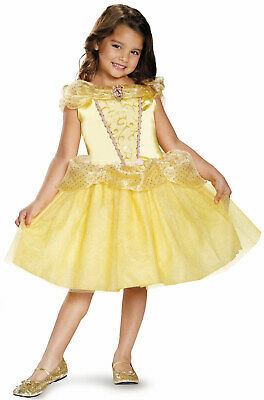 Brand New Disney Beauty and the Beast Belle Classic Child Costume