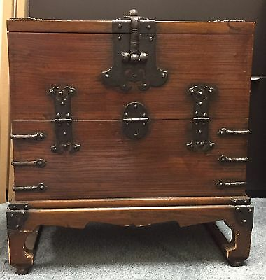 Korean antique storage chest