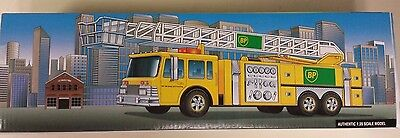 """BP  Toy Fire Truck Limited 1999 Edition About 14"""" Long (AG)"""
