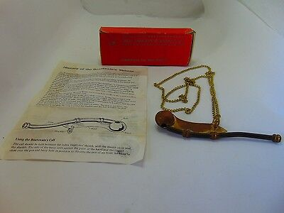 P & S Brother's Co. LTD Boatswain's Whistle  with Box