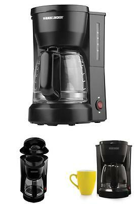 Electric Automatic Coffee Maker 5-Cup Morning Mini Compact Home Office Machine