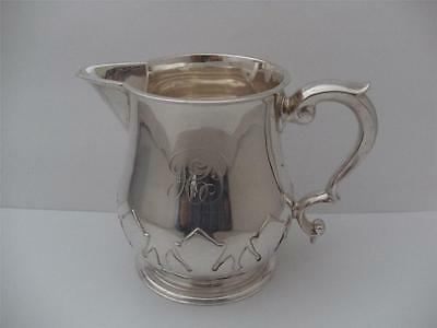 Beautiful Solid Silver Cream Jug Creamer London 1927 Heavy