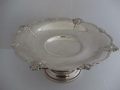 SUPERB LARGE STERLING SILVER TAZZA FRUIT DISH Sheffield 1933 Walker & Hall