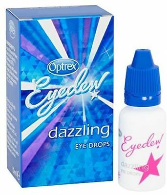 Optrex Eye Dew Dazzling Eye Drops - 10ml - Multiple Packs