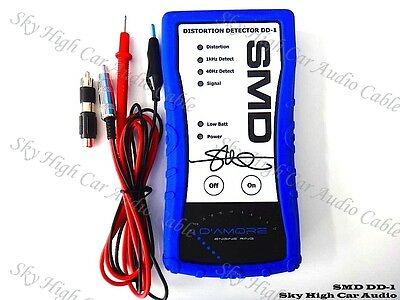Steve Meade SMD DD-1 Car Audio Amplifier Signal Distortion Detector Test Tone CD