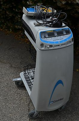 Conmed System 5000 Electrosurgical Generator with cart