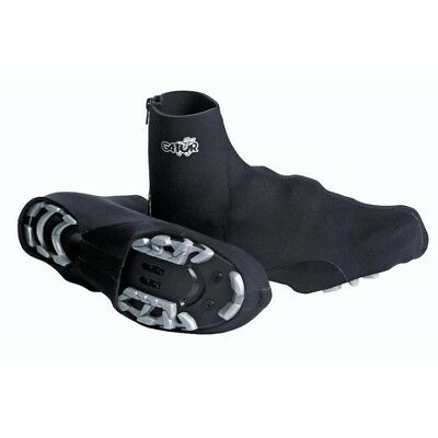 Gator All Terrain 3.0mm Neoprene Cycling Booties Non-Reflective Large