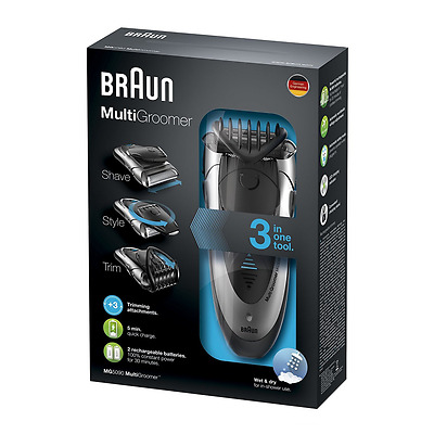 Braun MG5090 Men's Multi Groomer Wet and Dry Shaver Styler and Beard Trimmer