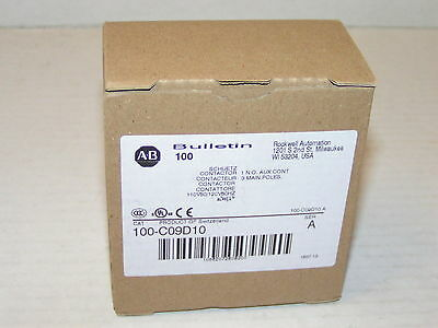 Allen Bradley 100-C09D10 Contactor New in Box