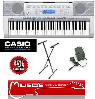 CTK4000 Casio CTK-4000 Adaptor & Stand $229 + Postage ($10 for Greater Sydney)