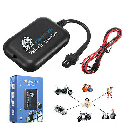 Realtime GPS GPRS GSM Tracker Car Vehicle Motorcycle Tracking Device Anti Theft
