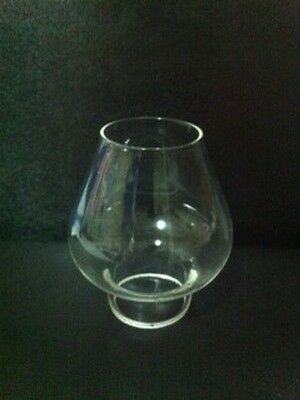 """Glass Oil Lamp Chimney """"H"""" - Pixie Size"""