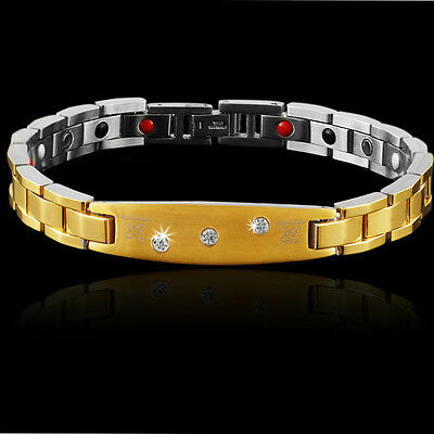 Stunning Energy Health Bracelet 6In1 Quantum Negative Ions ** PERFECT GIFT **